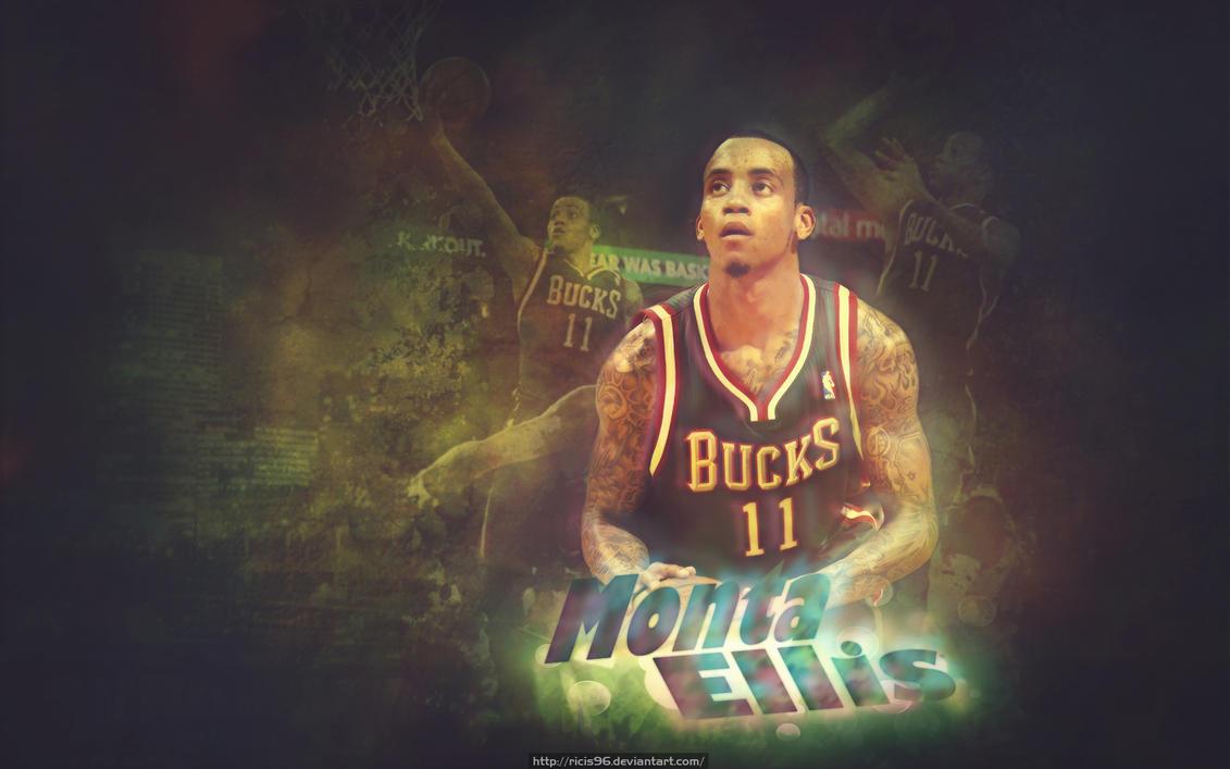 Monta Ellis At Milwaukee Bucks Wallpaper By Ricis96