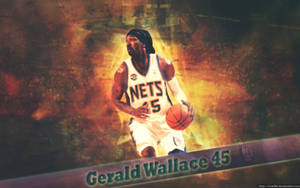 Gerald Wallace - New Jersey Nets Wallpaper by ricis96