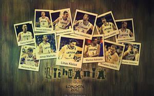 Lithuanian Basketball Team - London 2012 by ricis96
