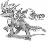 Spyro quickie drawing