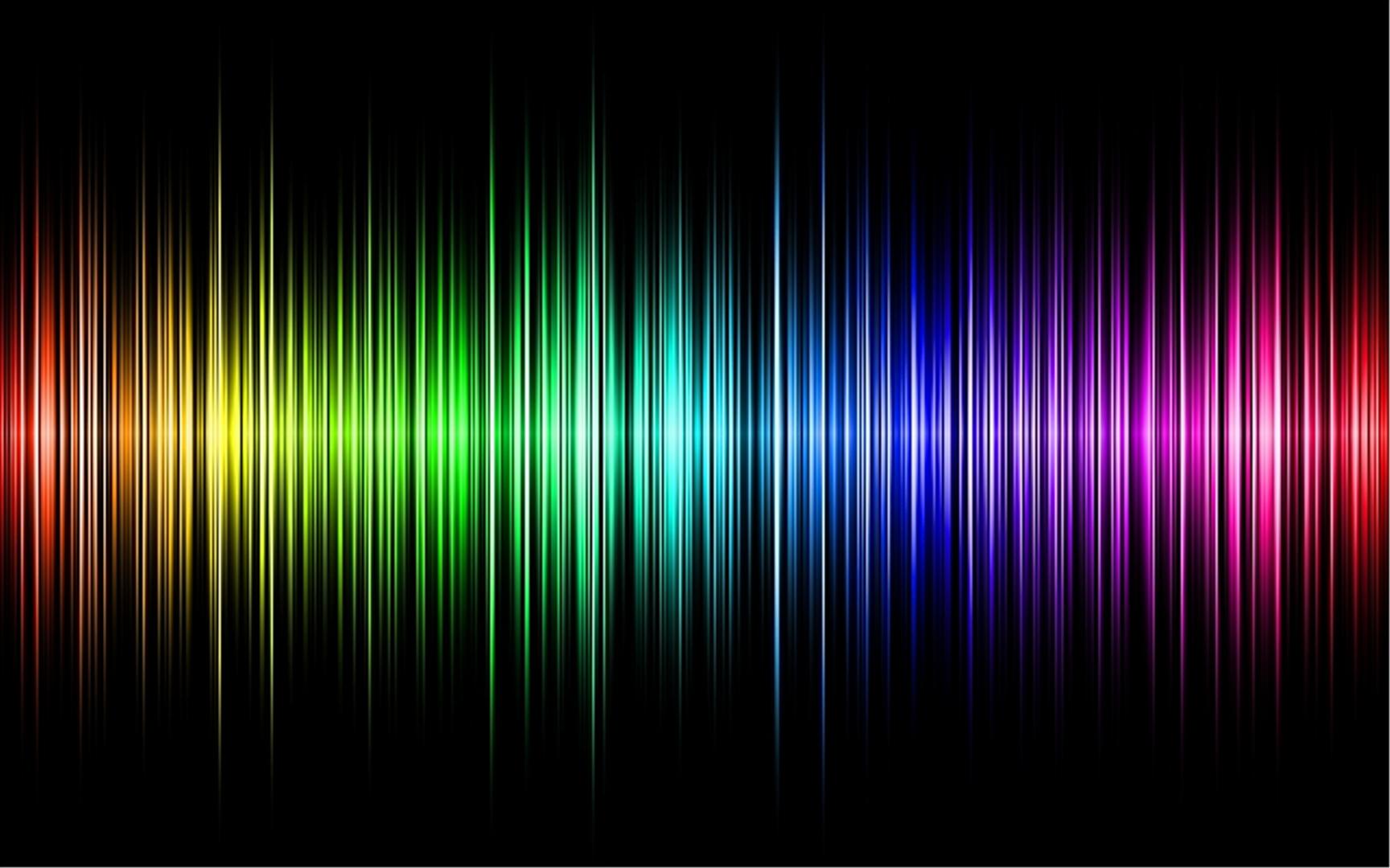rainbow wave length wallpapers - photo #10