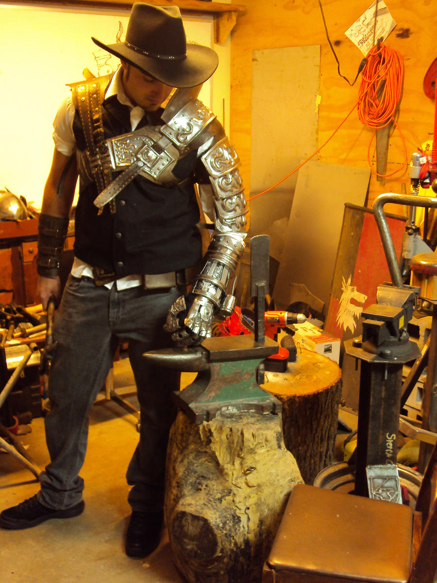 Bladeslinger Armour by TimeTurbine