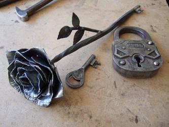 Rose Key by TimeTurbine