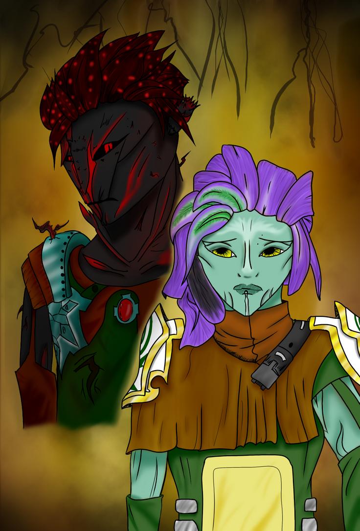 Guild Wars 2 - Sylvari by Ikuroda