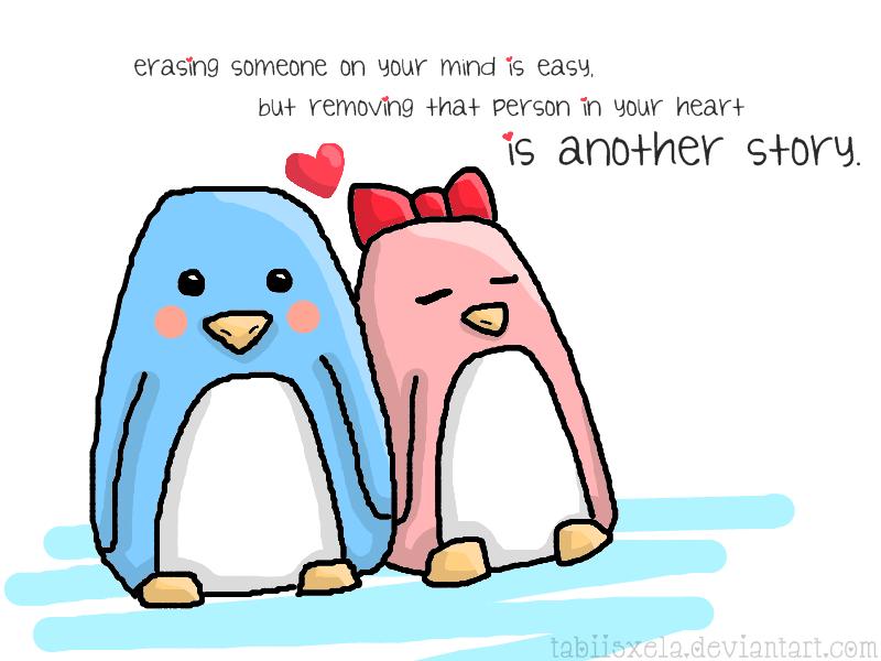 Penguin Love By Tabiishxela