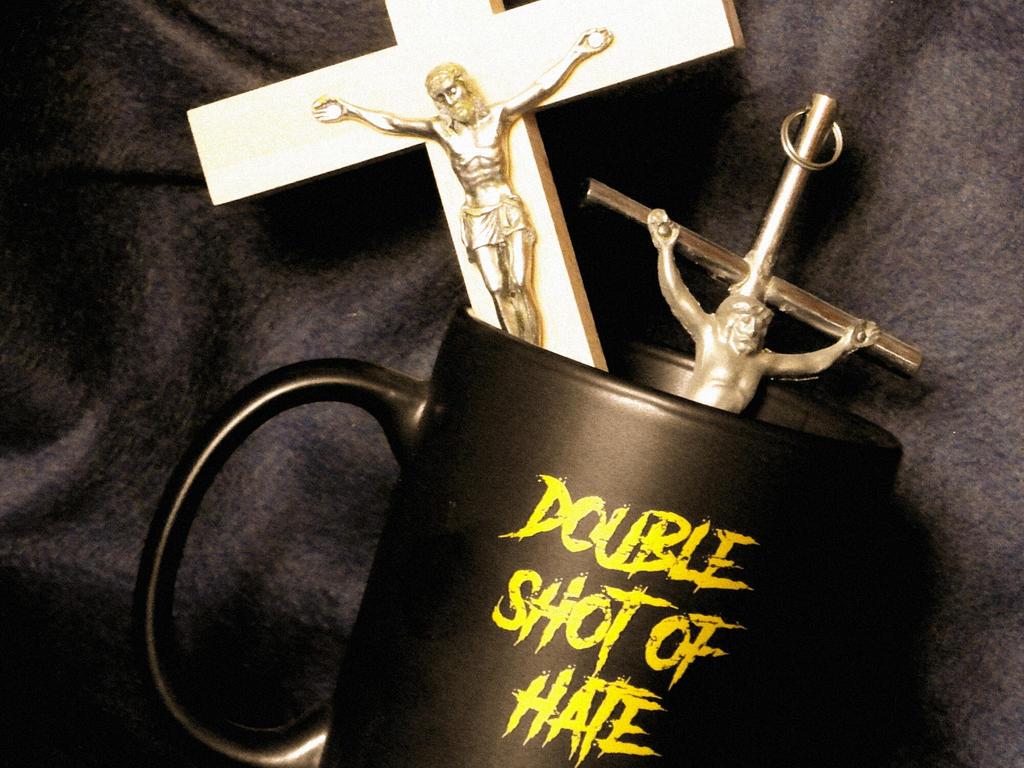 Double shot of HATE by HellishDecor