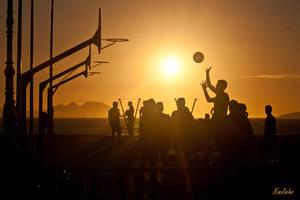 Baloncesto en samil by xoelinho