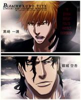 Bleach 475 Ichi vs Ginjo by mindzor