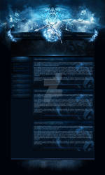 Webdesign league of legends