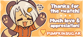Thankyou Banner Pika by PumpkinSugar