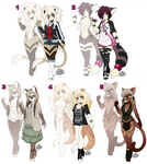 Anthro Kitty Adopts [CLOSED]