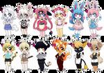PokeChibi Anthro Adopts [CLOSED]