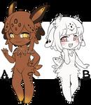 Sea Sluggu Couple Adopts [CLOSED]