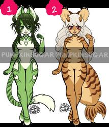 Theme Adopts - Oni Tigers Part 2 [OPEN 1/2] by PumpkinSugar
