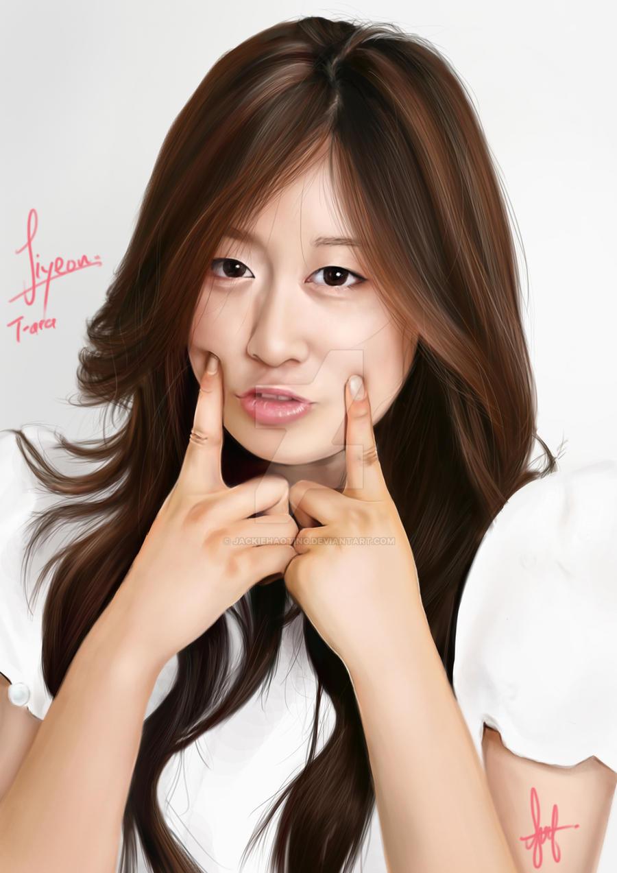 Jiyeon T-ara by JackieHaoTing on DeviantArt