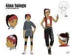 Gina Suingu (Character sheet commission)