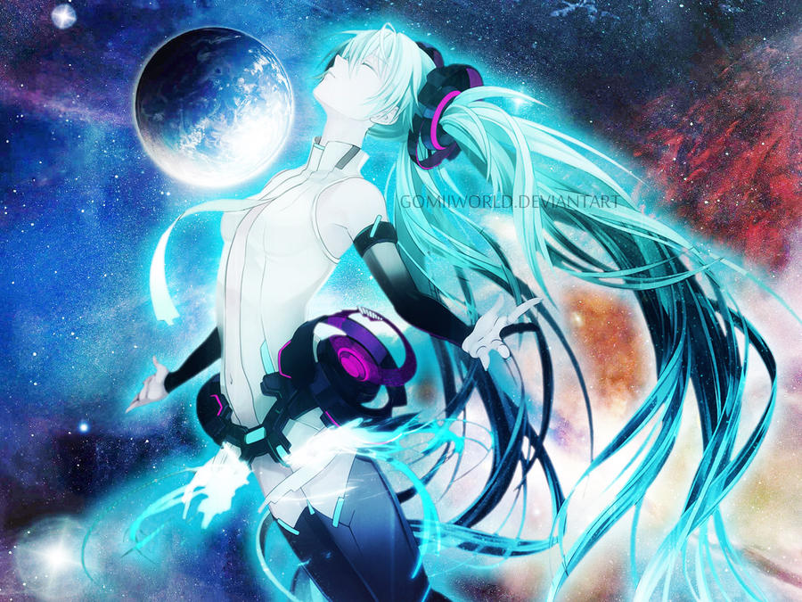 Hatsune Miku Append [GALAXY] by GomiiWorld