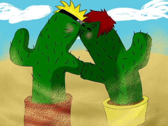 NaruxGaara Cacti by Torm19