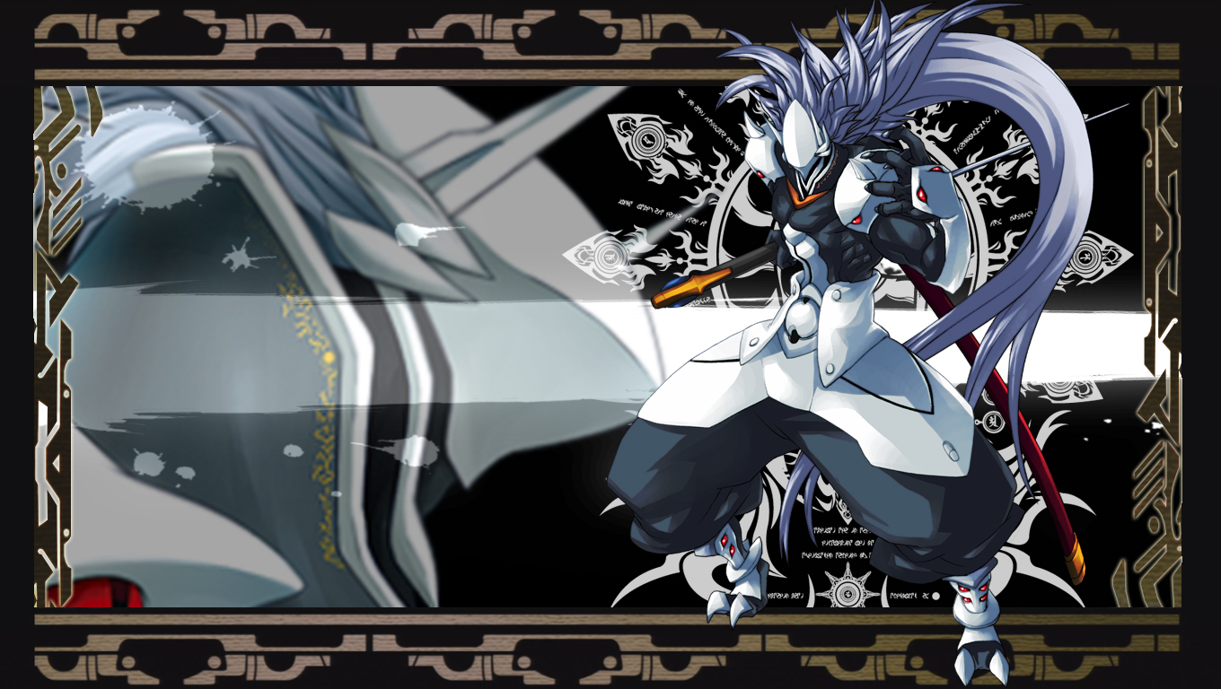 hakumen wallpaper ver. CT by MisfortuneSword