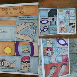 Early Morning Beach Curse (Original zine)