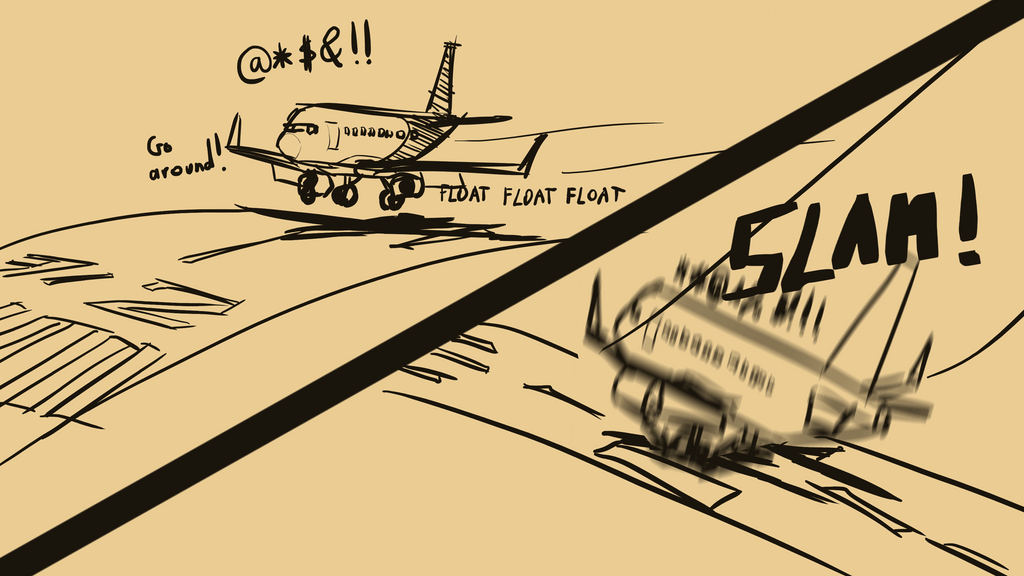 When you can't gauge your height above the runway by Malnu123