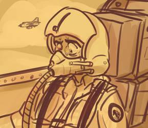 Pilot Sketch by Malnu123