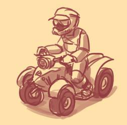 ATV doodle by Malnu123