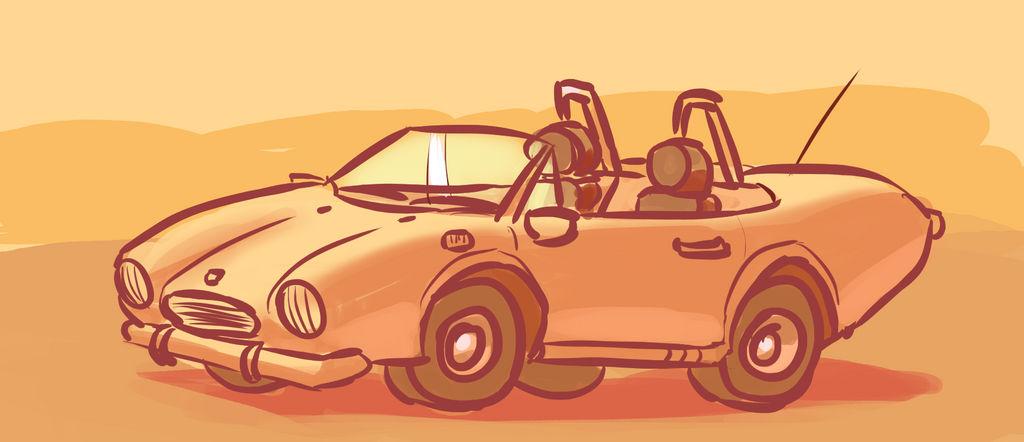 Car doodle by Malnu123