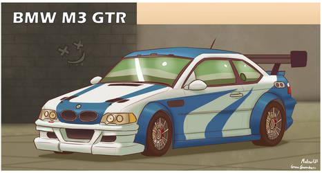 NFSMW BMW M3 GTR