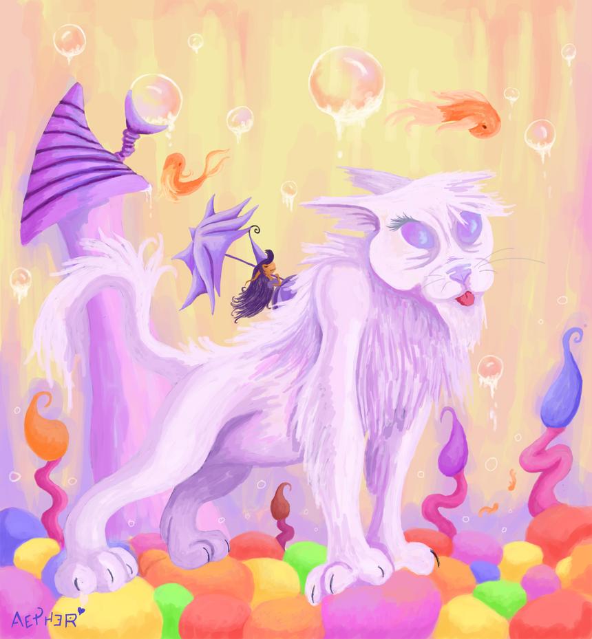 Bubblegum Stroll by A-D-Aether