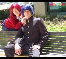 Toradora Ryuuji and Minori