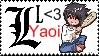 L loves yaoi by Icerosedrag0n