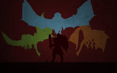 Dragon Knight - Elder Dragon Form by Tyler0903