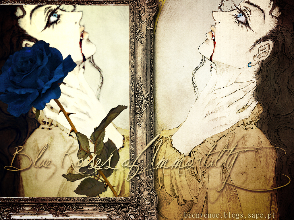Blue Roses of Immortality by Laura-SaintCroix