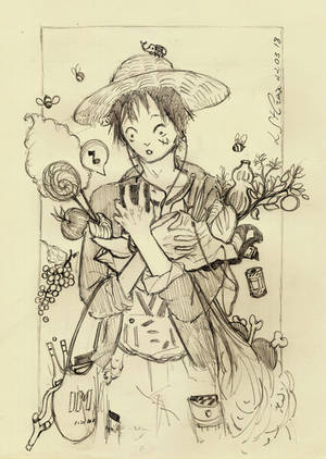 Luffy Shopping by Laura-SaintCroix