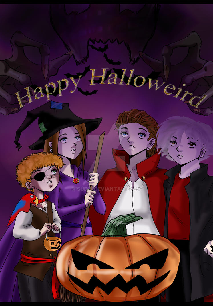 Happy Halloweird by Sue01