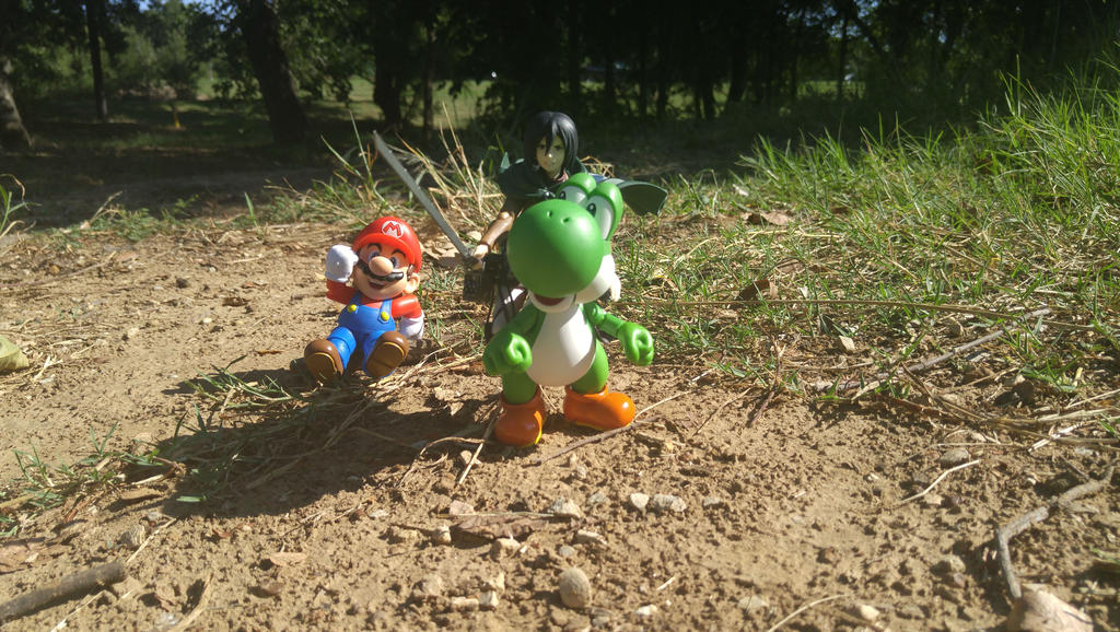 I said save a horse and ride a Yoshi by theNewAmAster