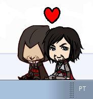 Ezio X Cesare Love Shimeji By Thais Sama On Deviantart