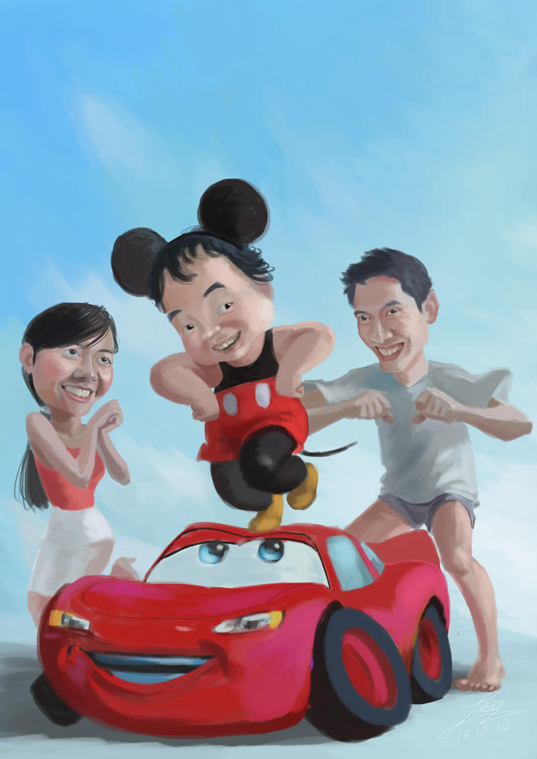 SeangChune on The Car by LENGARTISTRY