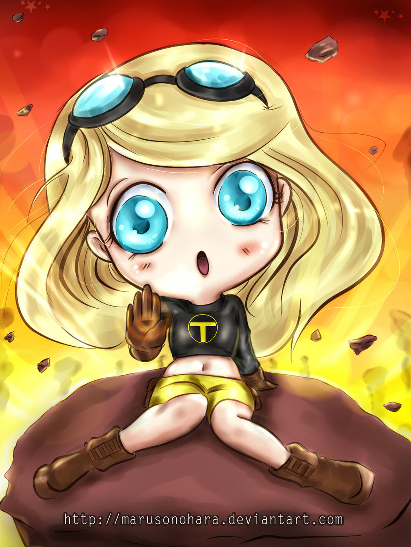 Terra Teen Titans  (nueva) by Maruruu-Chan