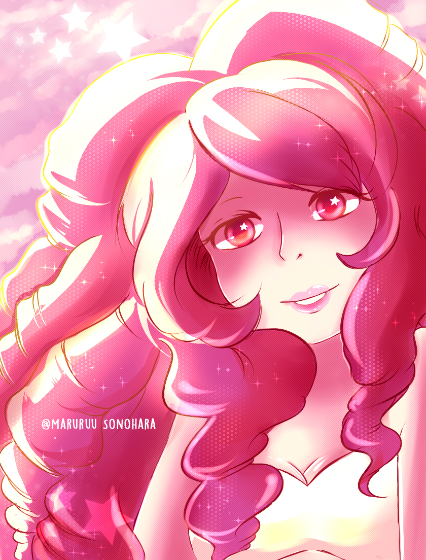 Rose quartz steven universe by maruruu chan on deviantart - Rose quartz steven universe wallpaper ...