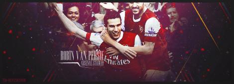 Robin van Persie - FC Arsenal by TiaSevenGFX