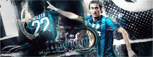 Diego Milito - FC Internazionale by TiaSevenGFX