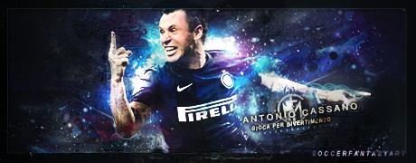 Antonio Cassano - Inter by TiaSevenGFX