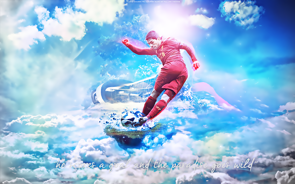 Luis suarez liverpool by tiasevengfx on deviantart - Suarez liverpool wallpaper ...
