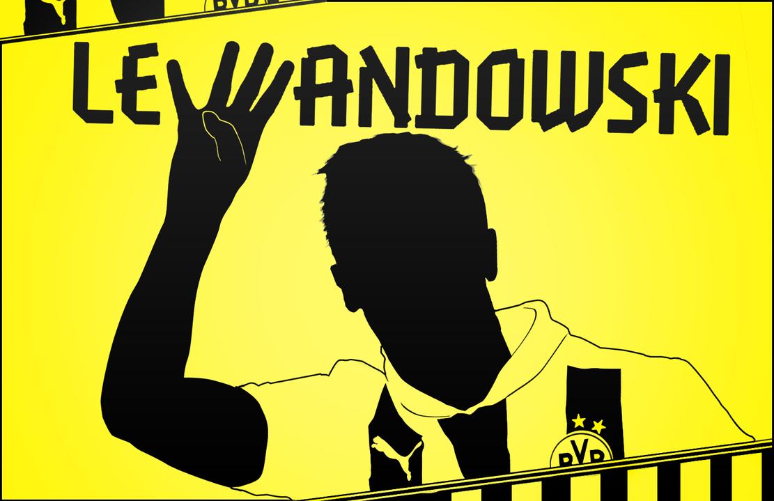 Robert Lewandowski - Borussia Dortmund by TiaSevenGFX