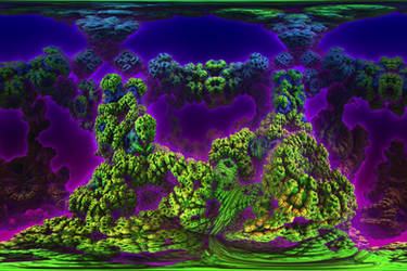 Coral Of Kepler-62e by Geonetique