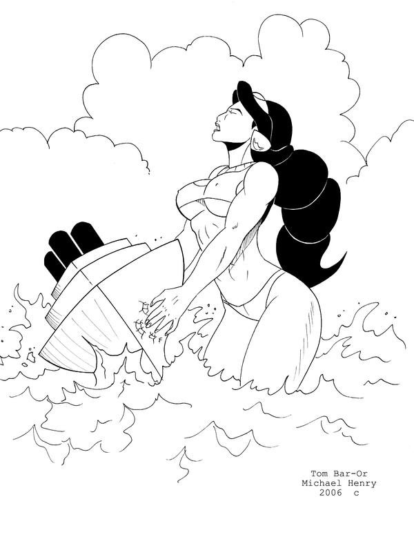 Giant Jasmine5 by musclebabe26
