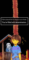 Undertale - Hot dogs on your head by marryhunt