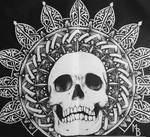 Skull with mandala